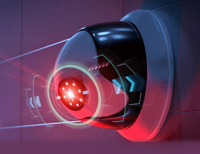 commercial surveillance security camera