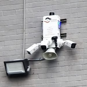 wall mounted security video cameras