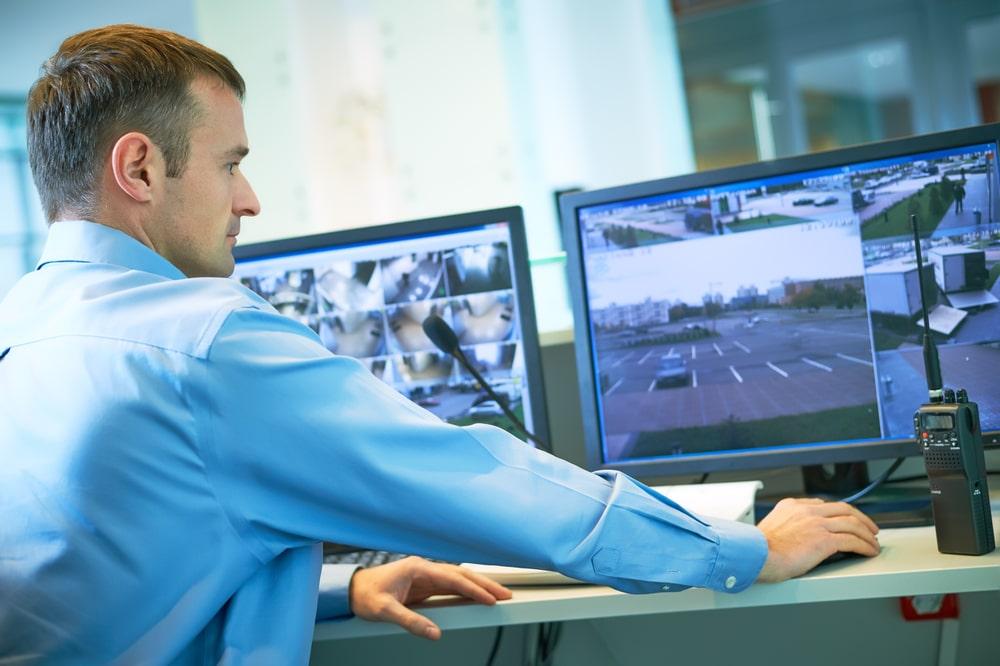 video surveillance monitoring center